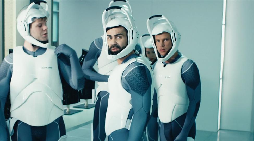 【50点】仮想空間で戦う映画「VR ミッション:25」の評価と感想