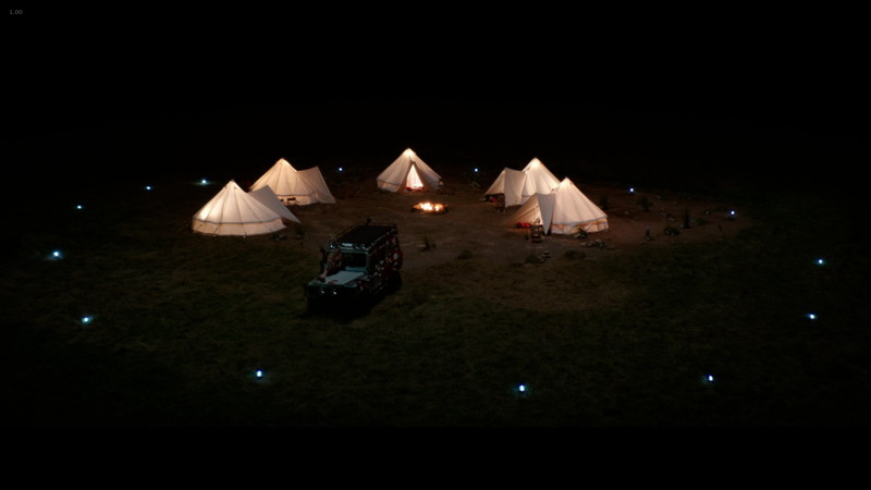 【60点】真面目系ゾンビ「ゾンビサファリパーク」の評価と感想:しかも現地でキャンプしてる