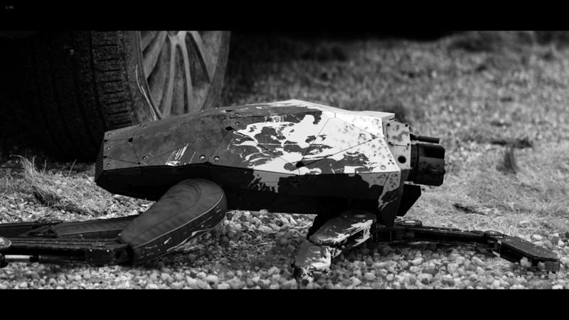 【ブラックミラー】S4E4「メタルヘッド」感想と考察(星2):銃で撃たれ破壊されたメタルヘッド