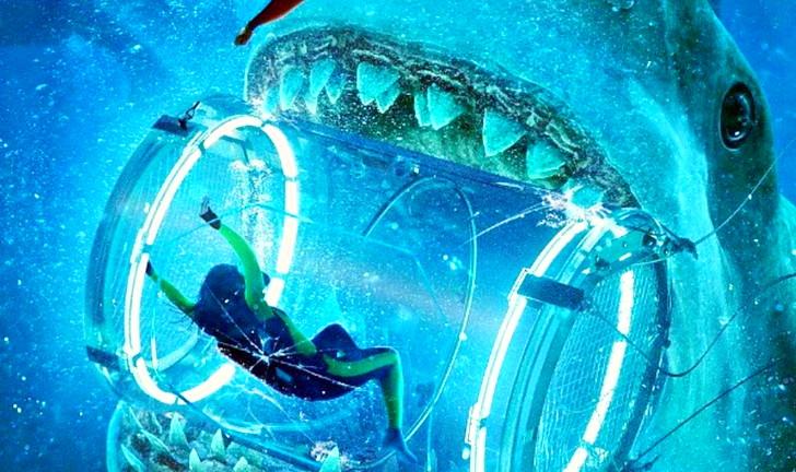 【75点】巨大鮫メガロドンとの死闘!「MEG(メグ・ザ・モンスター)」4DX版の感想