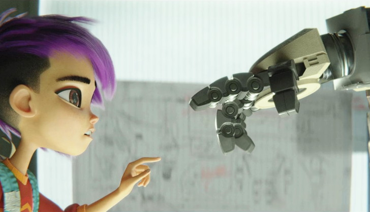 【60点】ピクサークオリティのCGロボアニメ「ネクストロボ」評価と感想【Netflix】