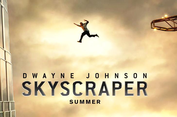 【感想】「スカイスクレイパー」の魅力3個。高層ビルに残された妻子を救え!