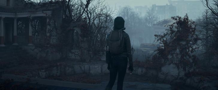 【55点】汚染された地球に唯一残った少女「ユピテルとイオ」評価と感想【Netflix】:汚染された町を調査するサム
