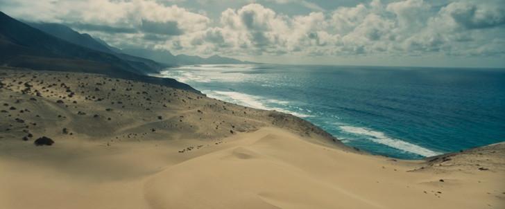 :砂浜、崖海