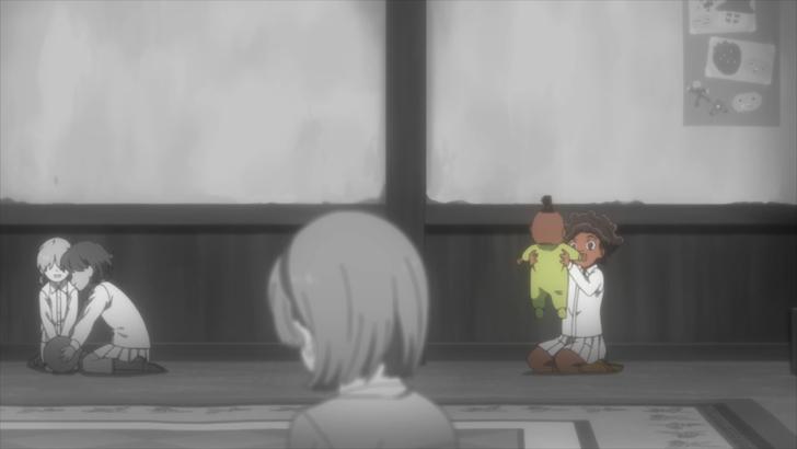 【ネタバレ有】アニメ版「約束のネバーランド(8話)」から見る伏線の大切さ【シスター・クローネ】:エマ達と同じように孤児院で過ごすクローネ