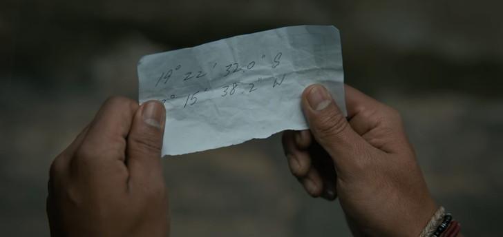 """【90点】大金を強盗する""""兵士""""たち「トリプル・フロンティア」評価と感想【Netflix】:緯度・軽度が書かれた紙を受け取ってエンドロールへ"""