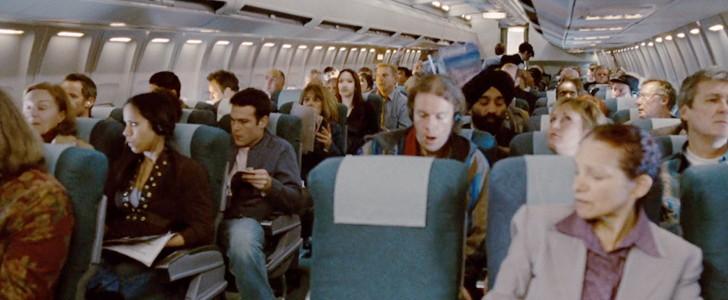 墜落直前、機内は激しく揺れる